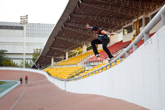 Rogue Mag Skate Geng Jakkarin signs to Billabong Asia
