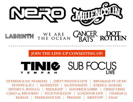 Rogue Mag Music and Festivals NASS 2011 lineup
