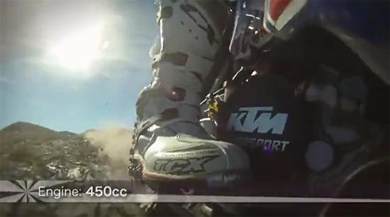 Rogue Mag Motorsport Red Bull KTM 450 test Dakar 2011