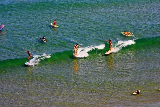 Rogue Mag Surf Swatch Girls Pro China - the first ASP event in China!