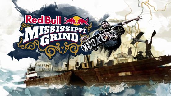 Rogue Mag Skate Red Bull Mississippi Grind 2011