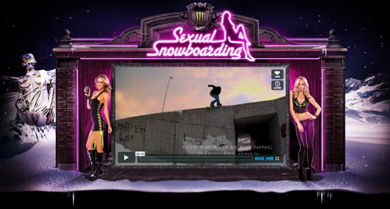 Rogue Mag Snow - The Helgasons bring you Sexual Snowboarding. Straight off the top shelf!