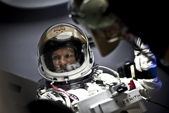 Rogue Mag - Red Bull Stratos Project - Felix Baumgartner (AUT) - Brooks Test