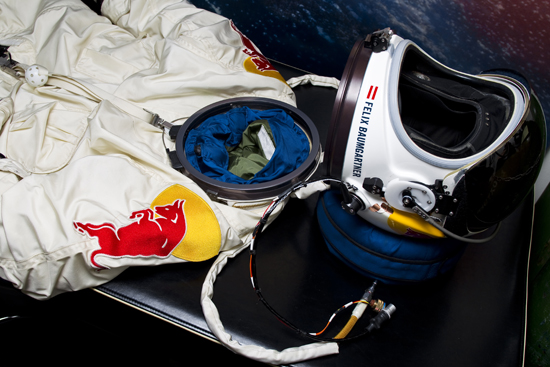 Rogue Mag - Red Bull Stratos Project - Suit and Helmet - Development