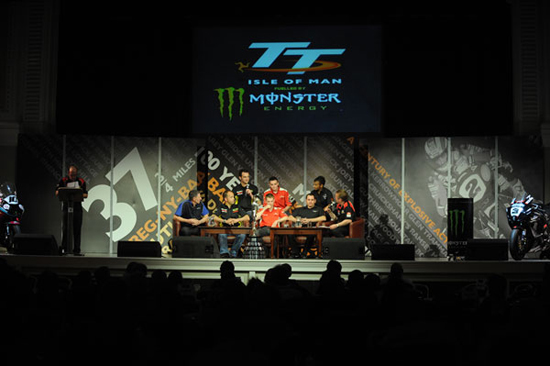 Rogue Mag Motorsport - iomtt.com to Stream Launch of TT2012 Live via iomtt.com on Wednesday 18th April