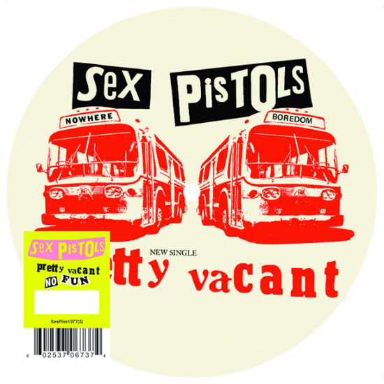 """Rogue Mag Music - Sex Pistols re-release limited edition 'Pretty Vacant' 7"""" on 2nd July"""