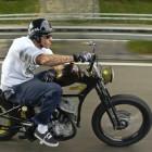 FMX star Danny Schneider builds new Scott's new E-bike