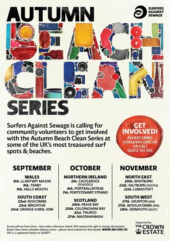 Rogue Mag - SAS Autumn Beach Clean Series