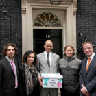 Historic event for UK surfing as SAS visit 10 Downing Street