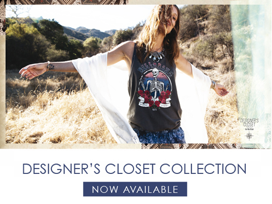 Rogue Mag Brands - New Billabong Womens Designer's Closet Collection