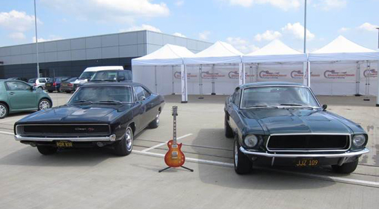 Rogue Mag Festivals - Become a rockstar with Gibson at the Silverstone Classis