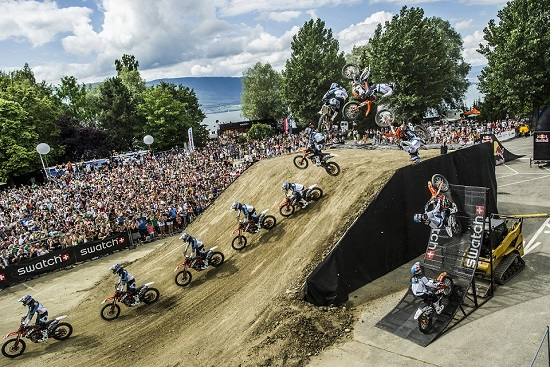 Swatch Free4Style - Levi Sherwood wins the FMX contest