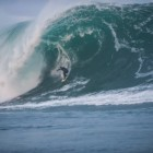 First swell of the season in Mullaghmore