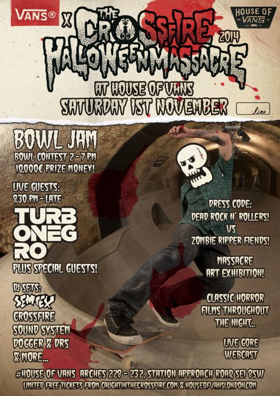 Vans x Crossfire Halloween Massacre 2014