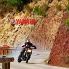 Motorcycle drifting with Yamaha