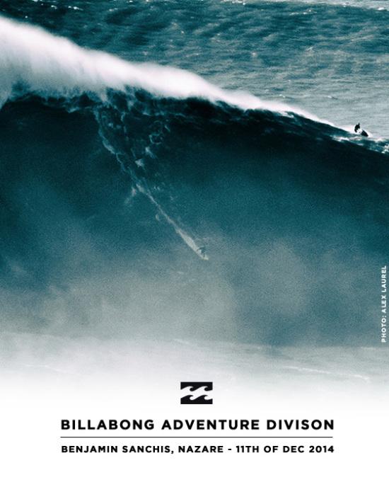 Benjamin Sanchis rides record-size wave in Nazare, Portugal