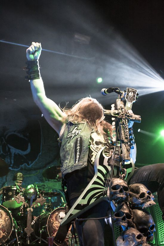 Black Label Society live in Manchester Academ…