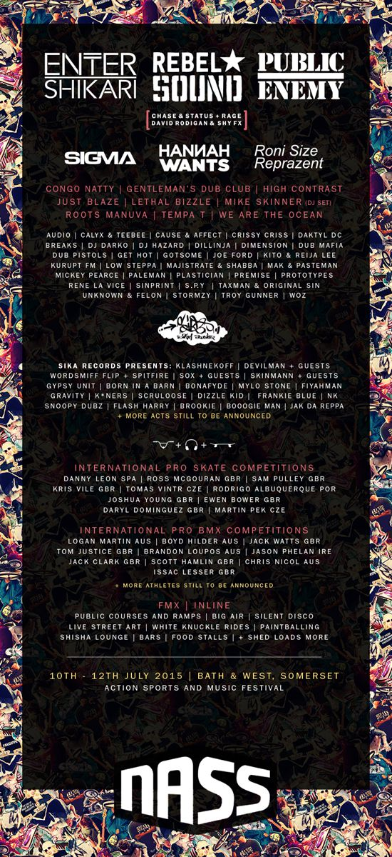 Rebel Sound announced as Third NASS Festival Headline Act